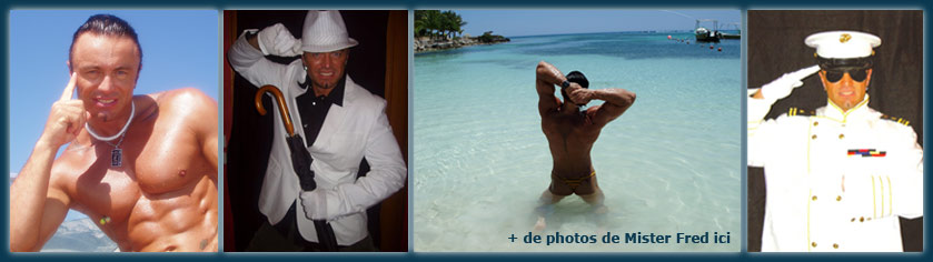 Les photos de Mister Fred stripteaseur et chippendale